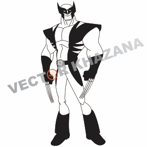 Wolverine Men Logo Vector