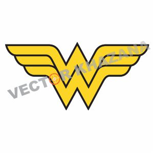 Wonder Woman Wing Vector