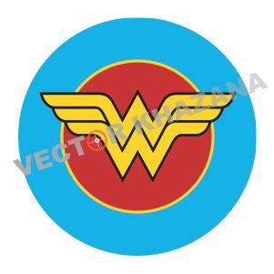 Wonder Woman Symbol Vector