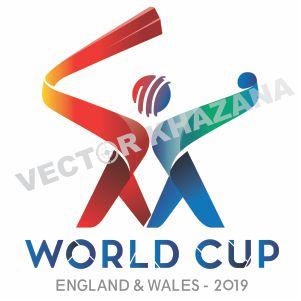 2019 Cricket World Cup Logo Vector