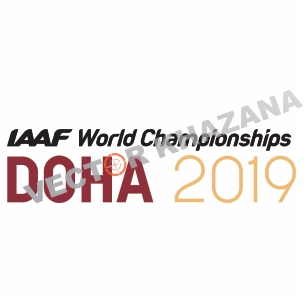 World Championships Doha Logo Vector