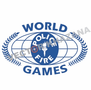 World Police And Fire Games Logo Vector