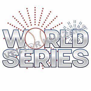 World Series Logo Vector