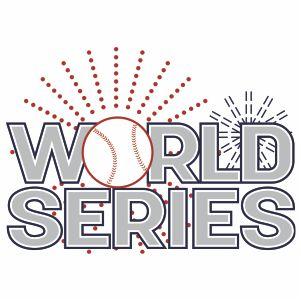 World Series Logo Svg
