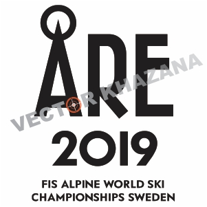 World Ski Championships Sweden Logo Vector