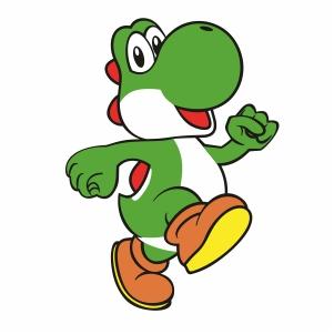 Yoshi Super Mario Svg