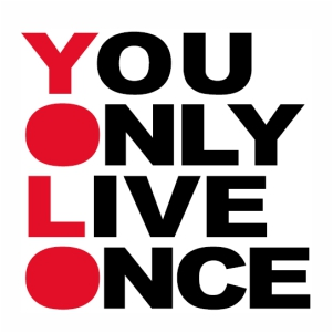 you only live once logo Vector